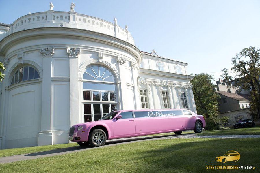 Pinke Limousine in Wien