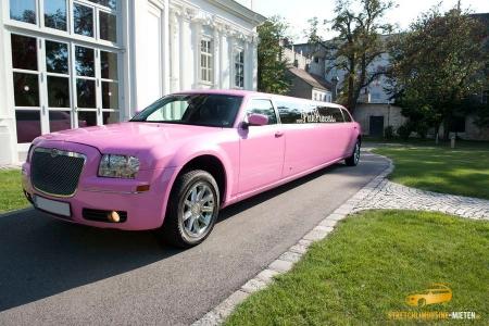 Pink Limo Chrysler 300c